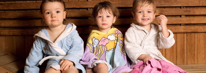 Kinder Sauna